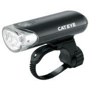 Farol Cateye HL EL135 3 leds com bateria