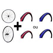 Rodas Vzan Overhill 26 disc centerlock + pneus