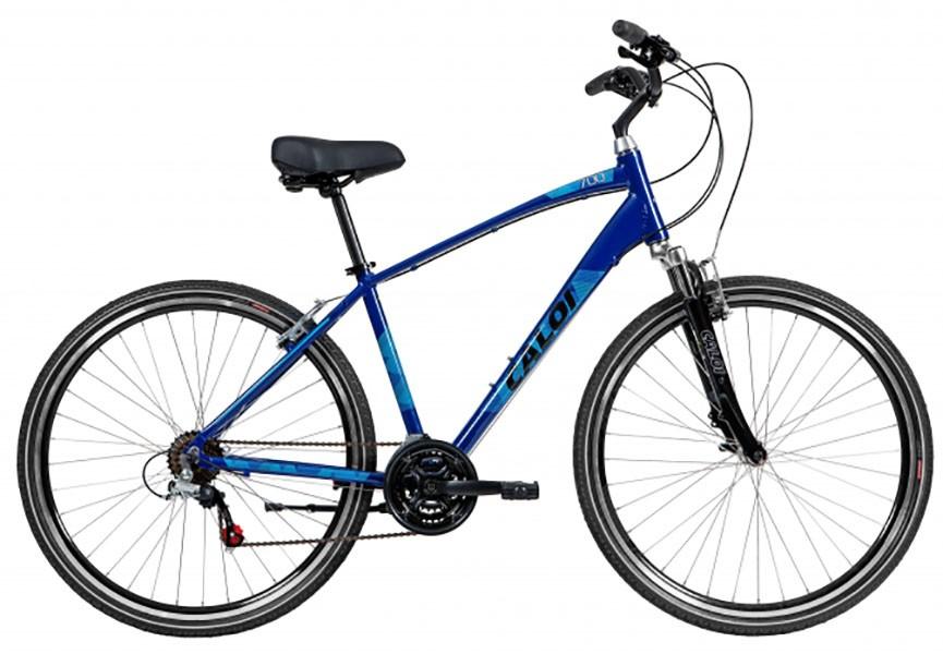 Bicicleta Caloi 700 - 2018 - Azul Escuro + Brinde