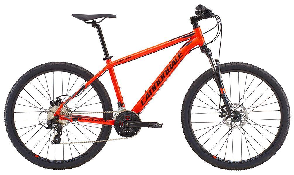 Bicicleta Cannondale Catalyst 3 - 2018 - Laranja Neon