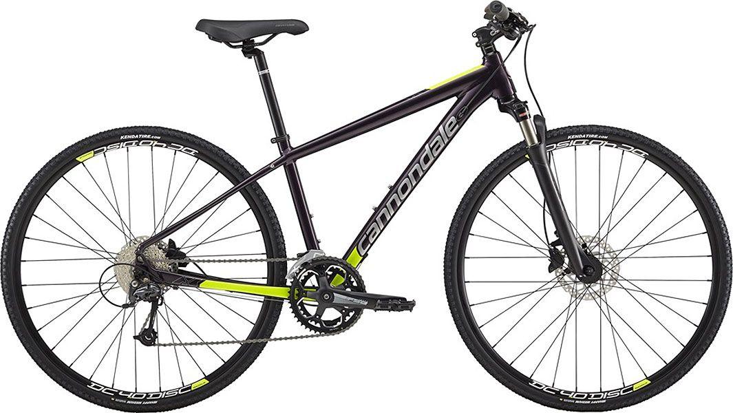 Bicicleta Cannondale - Althea 2 - 2018 - Vinho / Verde - Feminina