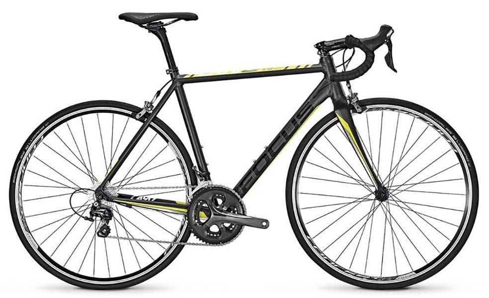 Bicicleta Focus - Cayo Al Tiagra - 2017 - Cinza / Verde + Pedal Shimano PD-R540