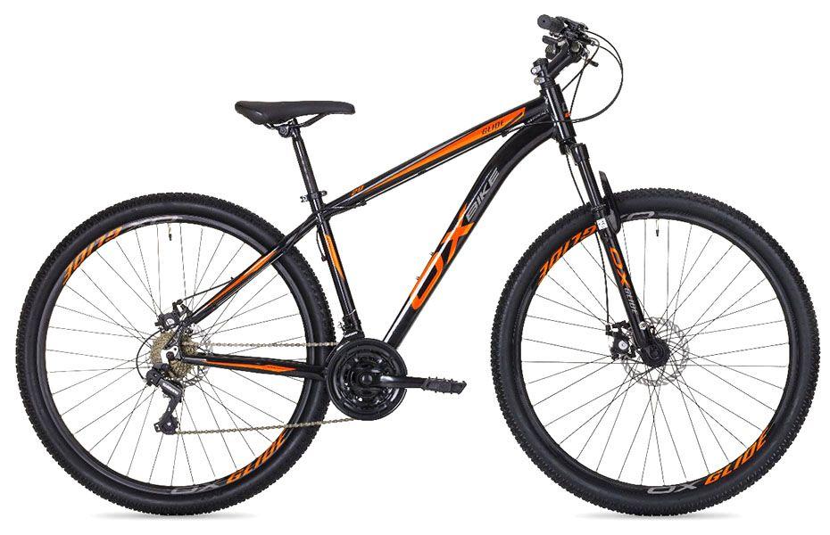 Bicicleta OX Glide - Preta / Laranja