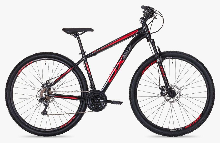 Bicicleta OX Glide - Preta / Vermelha