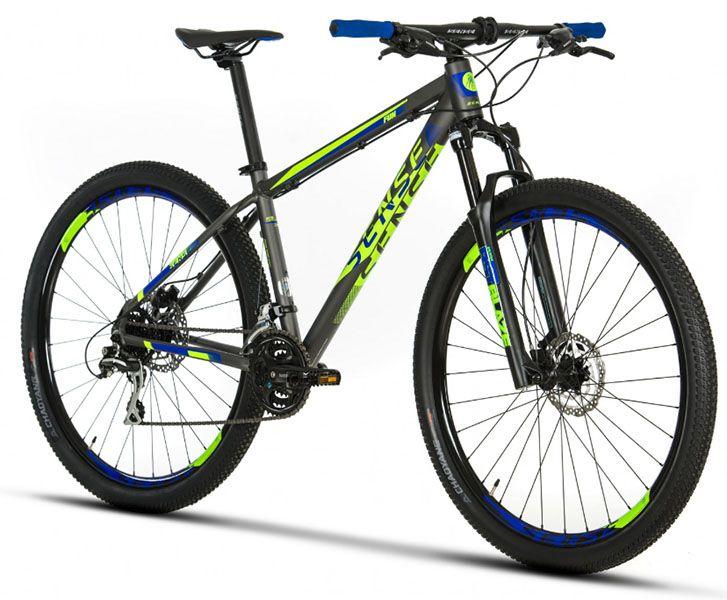 Bicicleta Sense Fun - 2019 - Cinza / Verde / Azul
