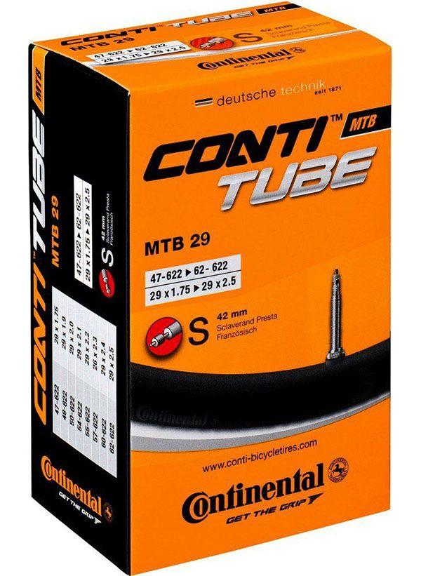 Câmara de Ar - Continental MTB - 29 x 1.75 / 2.5 - 42 mm
