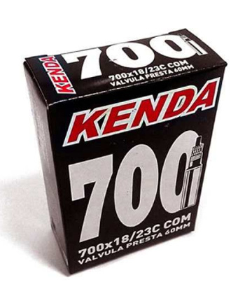 Câmara de Ar - Kenda - 700 x 18/23C - 60 mm - 5 Unidades