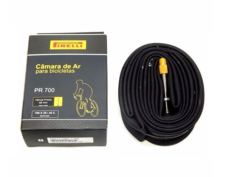 Câmara de Ar - Pirelli - PR 700 - 700 x 28/45 mm