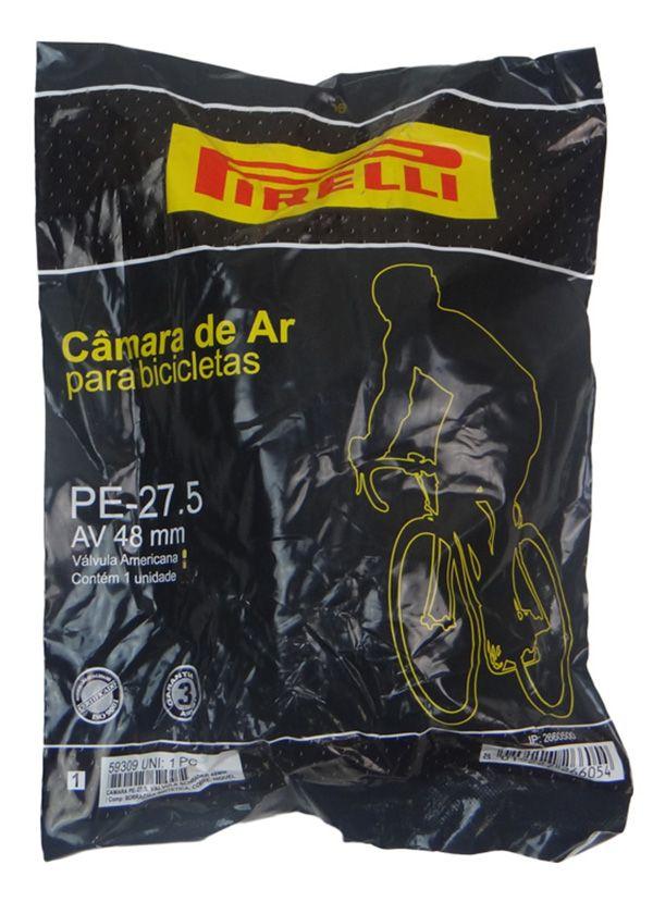 Câmara de Ar - Pirelli PE-27,5 - 27,5 x 1.75/2.35 - A/V - 48 mm