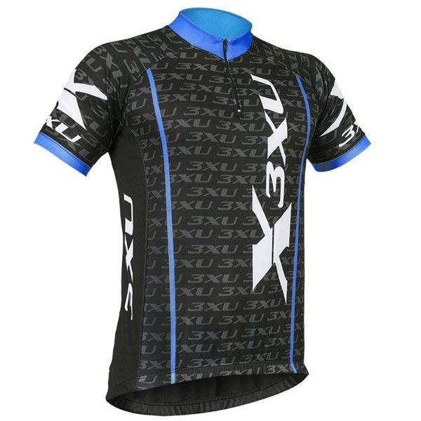 Camisa 3XU Multiplied - Preta / Azul / Branca