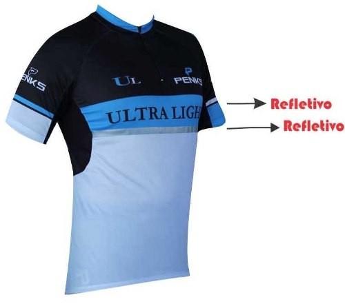 Camisa Penks - Ultralight - Preto / Azul / Branco