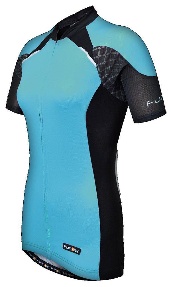 Camisa Funkier - Ladies Pro SS Jersey - Azul / Preta