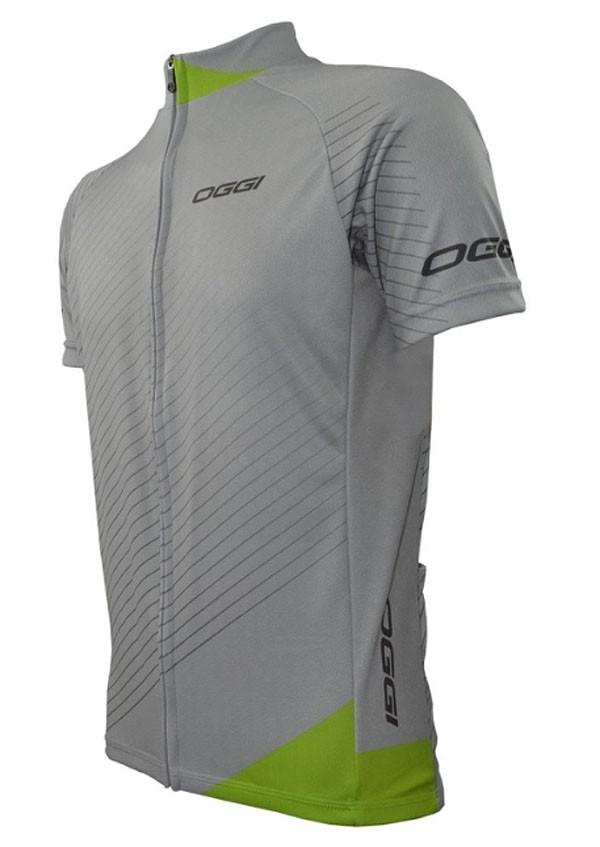 Camisa Oggi Veloce - Cinza / Verde