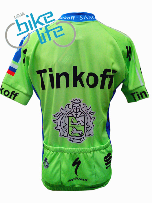 Camisa WORLD TOUR - SAXO TINKOFF