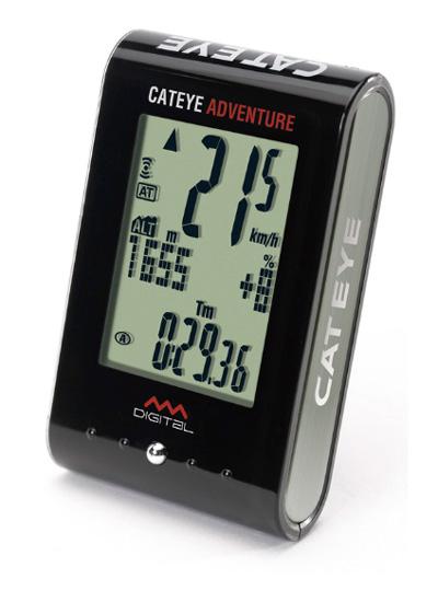 Ciclocomputador Cateye - ADVENTURE CC-AT200W - Altímetro