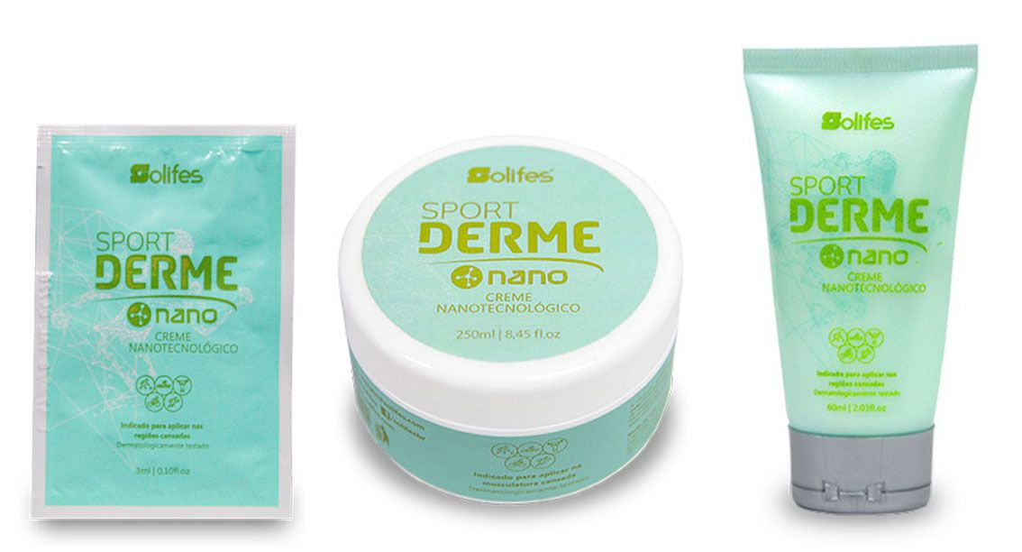 Creme Solifes - Sport Derme NANO - Nanotecnológico