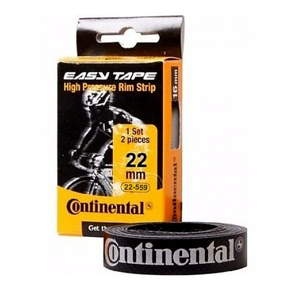 Fita de Aro - Continental Easy Tape - 559 x 22 mm - Aro 26 - 2 unidades