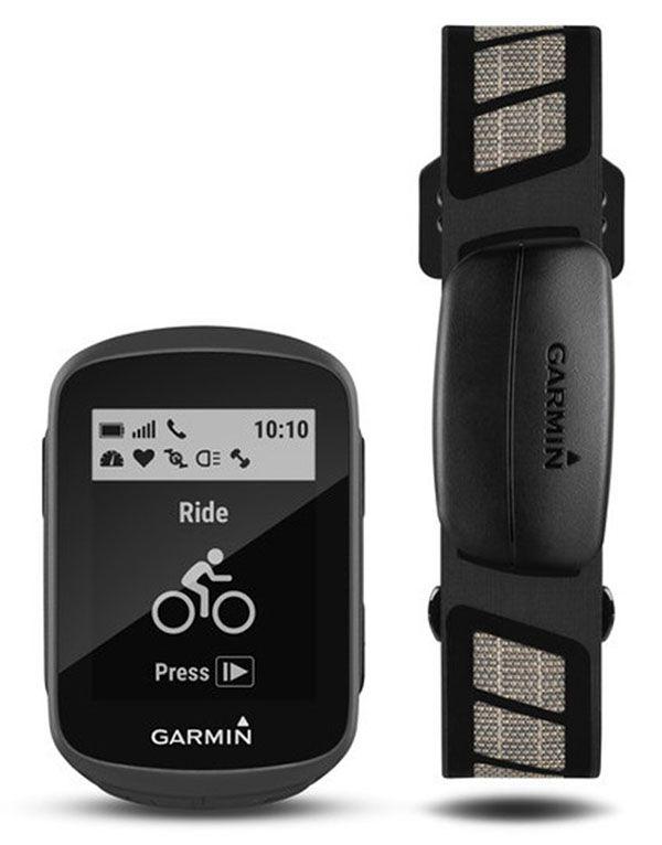 GPS Garmin - Edge 130 - HR Bunble c/ Monitor Cardíaco