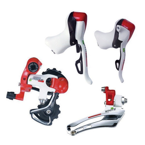 Grupo Microshift - 10 v - Branco / Vermelho / Verde