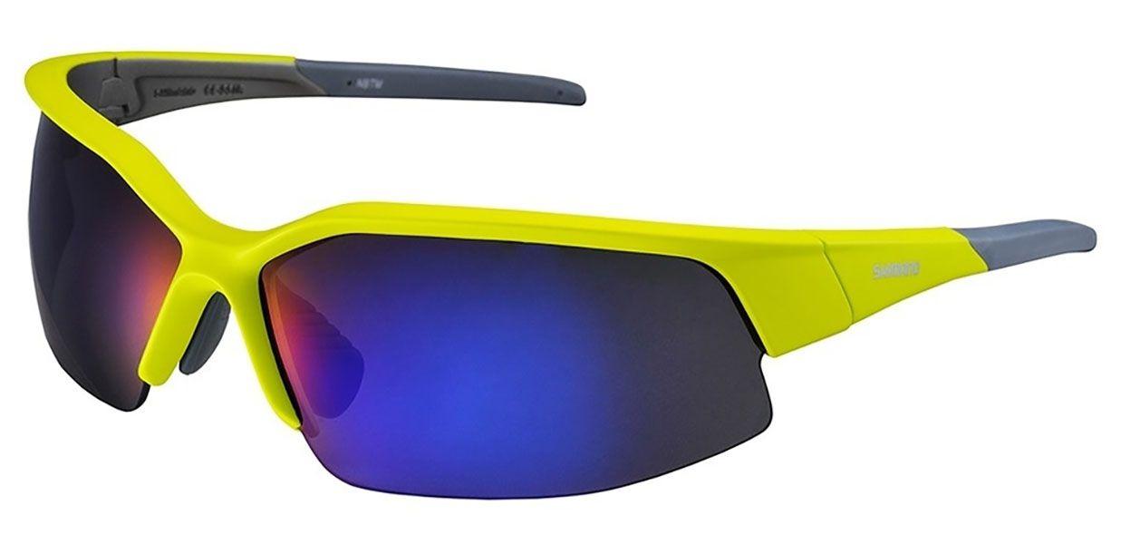 Óculos Shimano - CE-S51R - Amarelo - Lente Azul