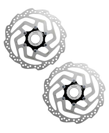 Par de Disco / Rotor - Shimano Rt10 - 160 mm - CL