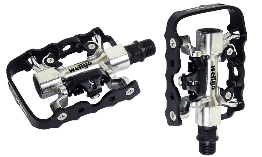 Pedal Wellgo C176 - Clipe e Plataforma