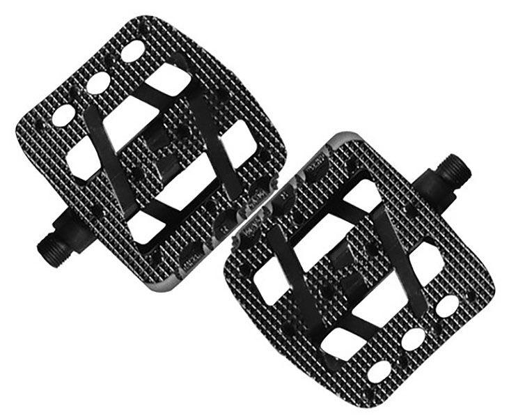 Pedal Wellgo - LU-A15 - Alumínio - Preto