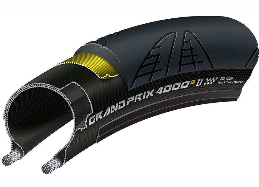 Pneu Continental - Grand Prix 4000s II - 700c