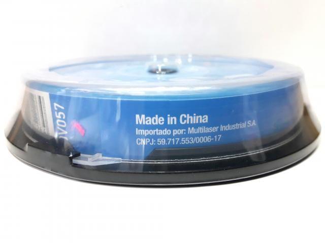 10 Mídia Virgem Bluray Bd-r Multilaser Printable 25gb 135min