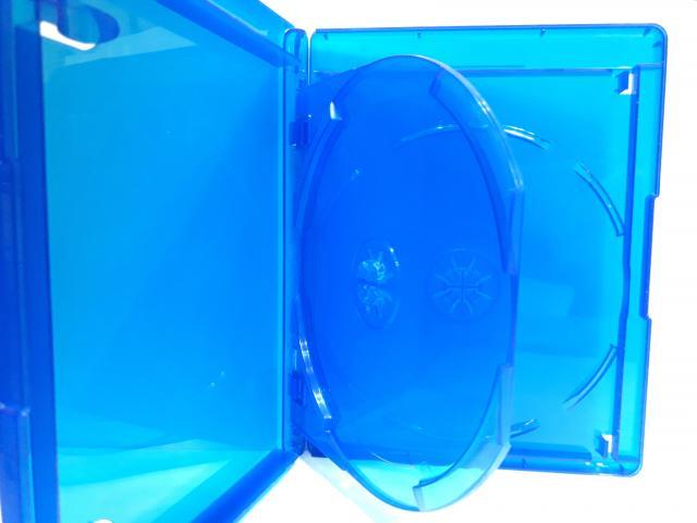 Estojo Capa Caixa Box Bluray Duplo 2 Azul Com Logo