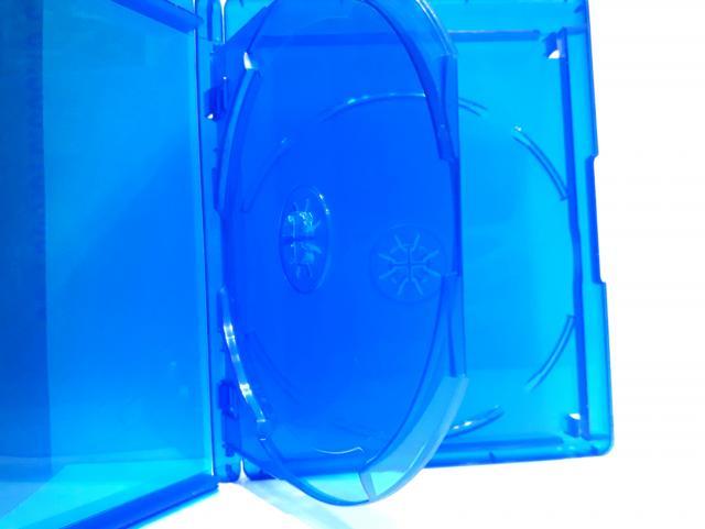 Estojo Capa Caixa Box Bluray Duplo 2 Azul Elite Com Logo