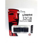 1 Pendrive 32gb Kingston Data Traveler 100 Usb 3.1 Original