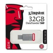 1 Pendrive 32gb Kingston Data Traveler 50 Usb 3.1 Original