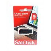 1 Pendrive Sandisk 16gb Cruzer Blade