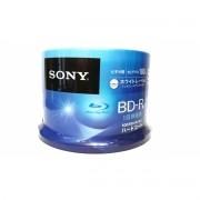 50 Mídia Virgem Bluray Bd-r Sony Printable 25gb 135min