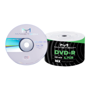 50 Dvd-r Maketech Logo 4.7gb 120min
