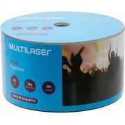 50 Mídia Virgem Dvd-r Multilaser Printable 4.7gb 120min