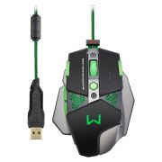 Mouse Gamer Warrior 4000dpi Multilaser MO249
