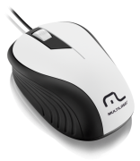 Mouse Óptico Usb Multilaser Wave 1200dpi MO224