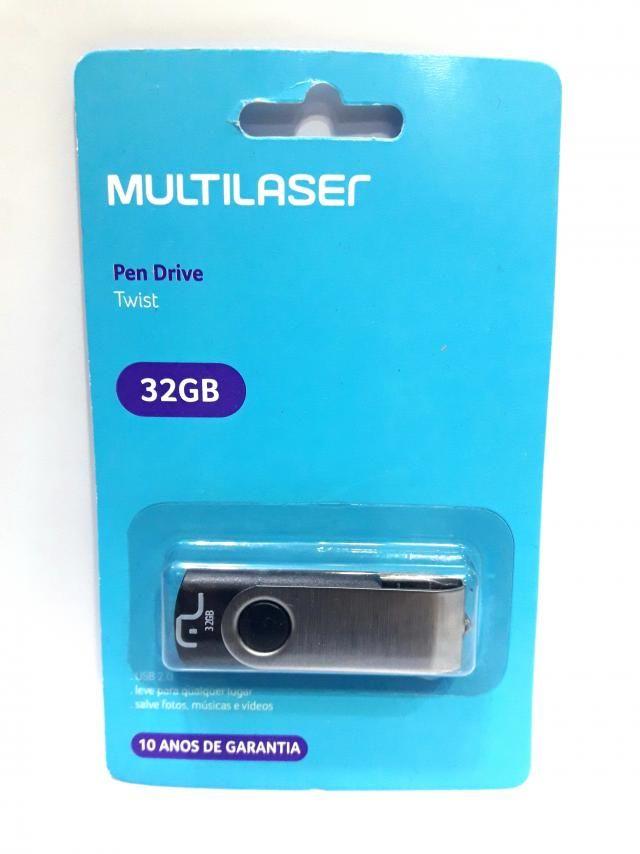 1 Pendrive Multilaser 32gb Pd589 Twist