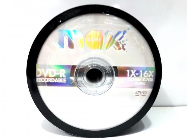 50 Dvd-r Maxprint Logo 4.7gb 120min