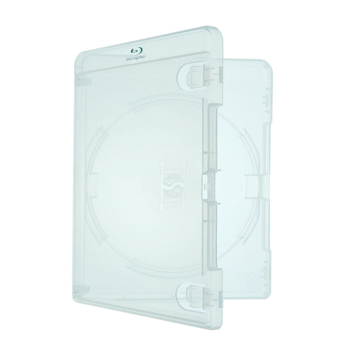 Estojo Capa Caixa Box Bluray Transparente Amaray Com Logo