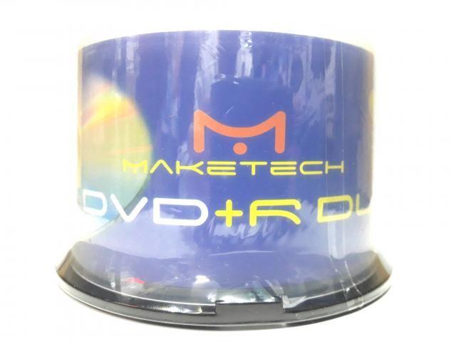 DVD+R DL Maketech Printable 8.5gb 240min 50UN.
