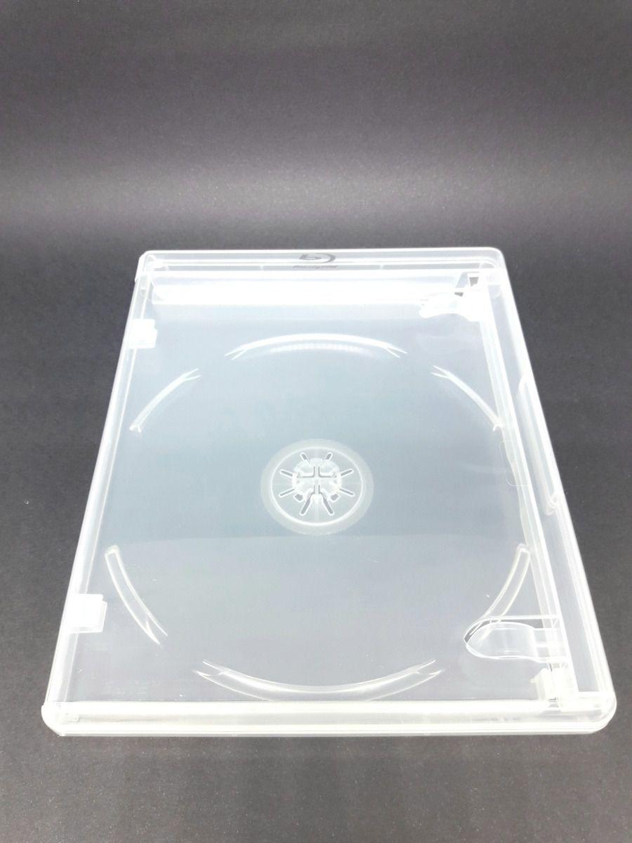 Estojo Capa Caixa Box Bluray Transparente Elite Com Logo