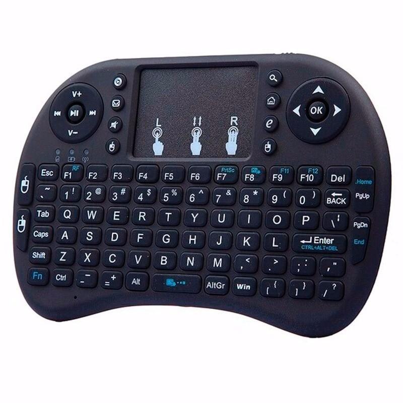 Mini Teclado Wireless sem fio Touchpad