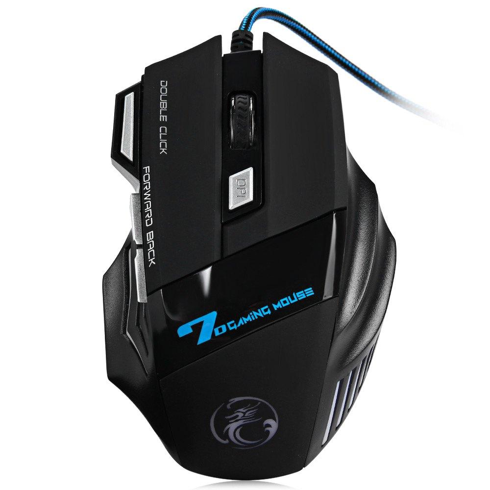 Mouse Gamer Botão duplo disparo 2400dpi Estone X7