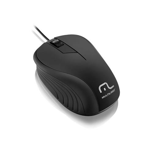 Mouse Óptico Usb Multilaser Wave 1200dpi MO222