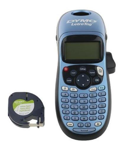Rotulador Eletrônico Letratag Lt100h Azul Metálico