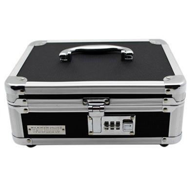 Caixa Cofre Maleta C/ Segredo Numérico e Divisórias Vaultz -  803147