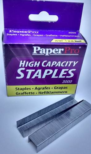 Grampo 25/10 Cx C/3000 Grampos P/ Grampeadores Paperpro 1962